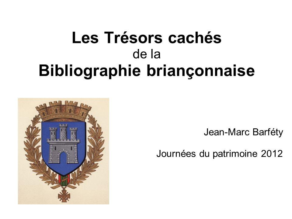 Bibliographie briançonnaise