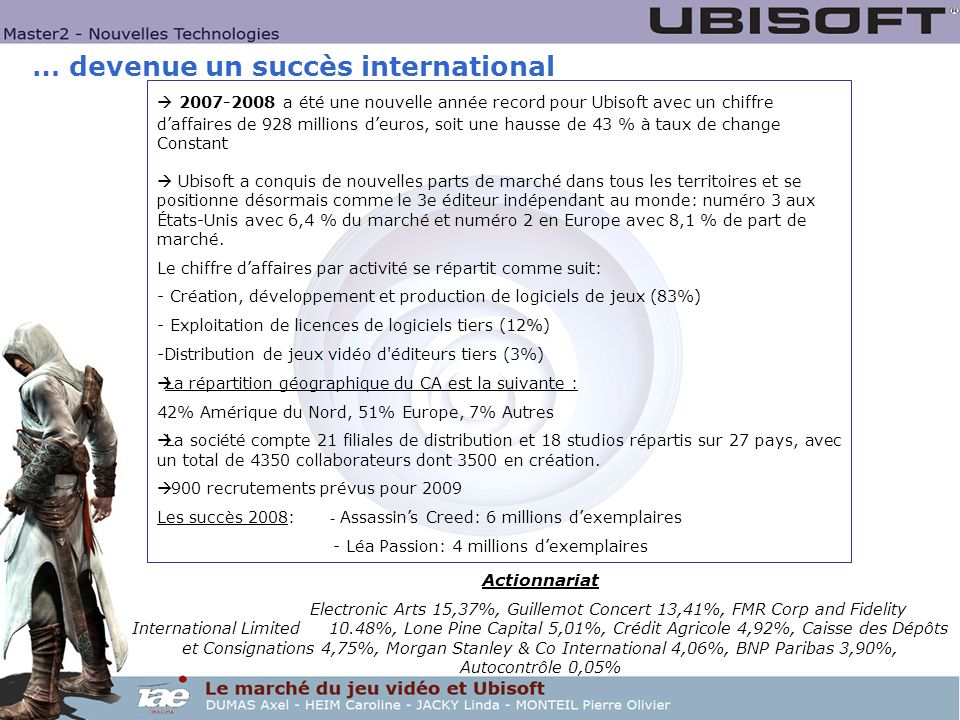 … devenue un succès international