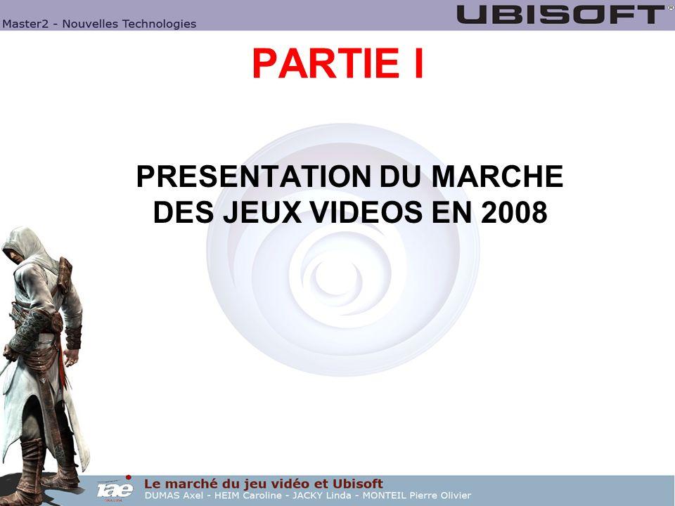 PRESENTATION DU MARCHE DES JEUX VIDEOS EN 2008