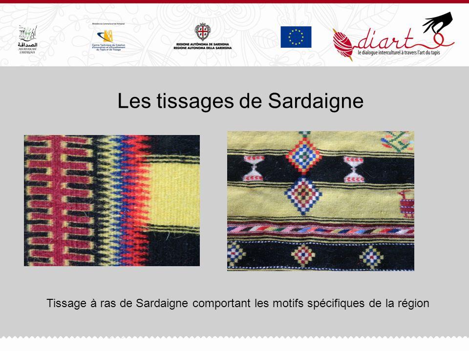 Les tissages de Sardaigne