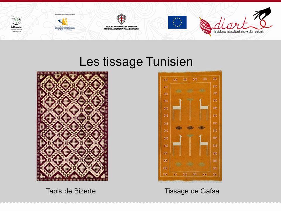 Les tissage Tunisien Tapis de Bizerte Tissage de Gafsa