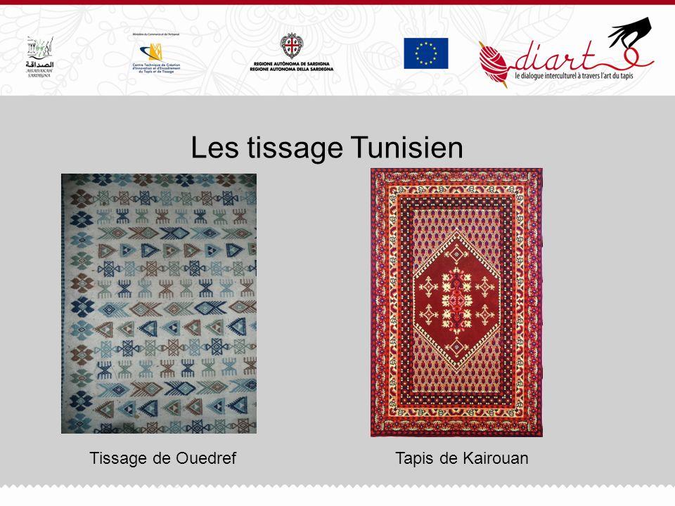 Les tissage Tunisien Tissage de Ouedref Tapis de Kairouan