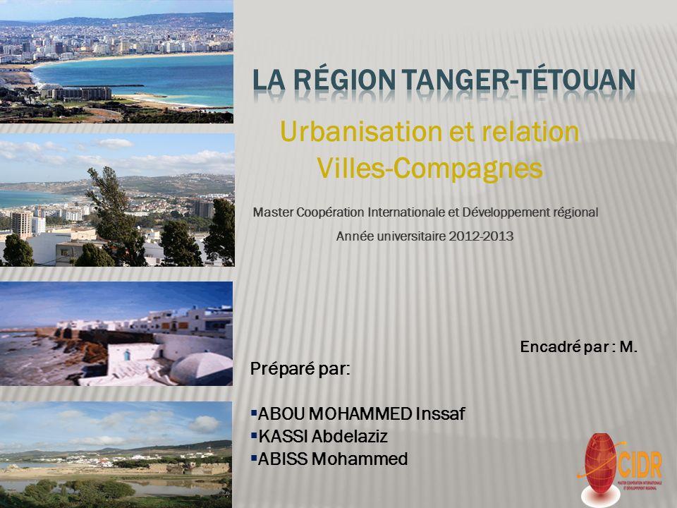 La région Tanger-Tétouan
