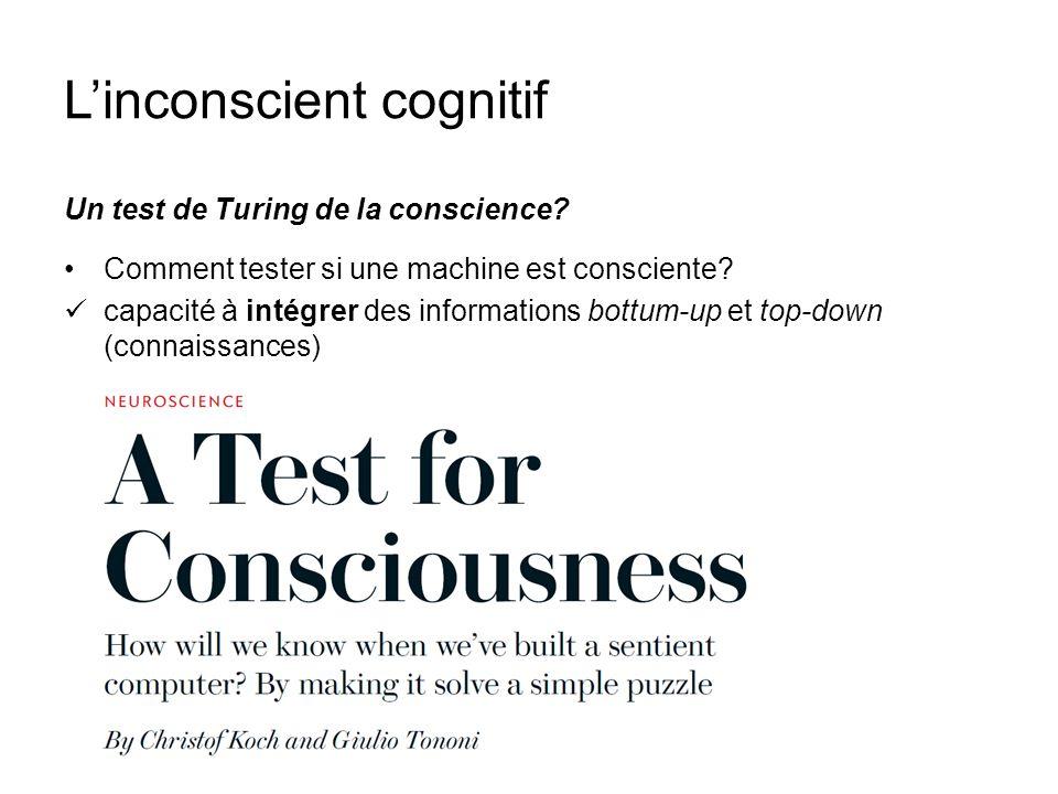 L'inconscient cognitif