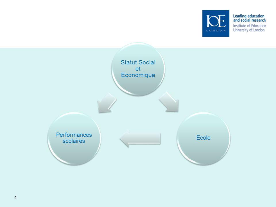 Statut Social et Economique