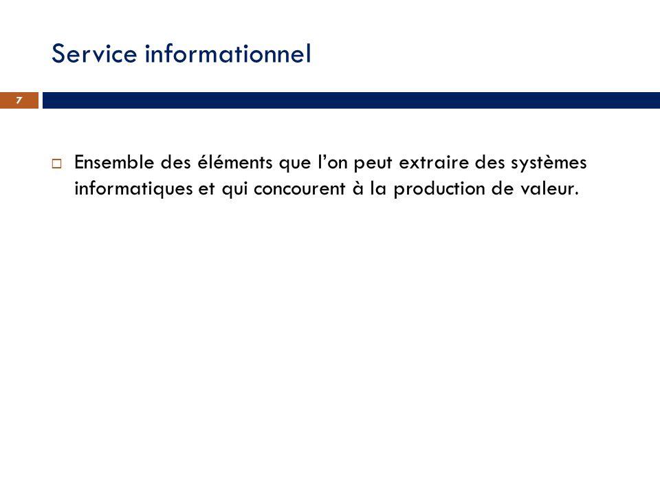 Service informationnel