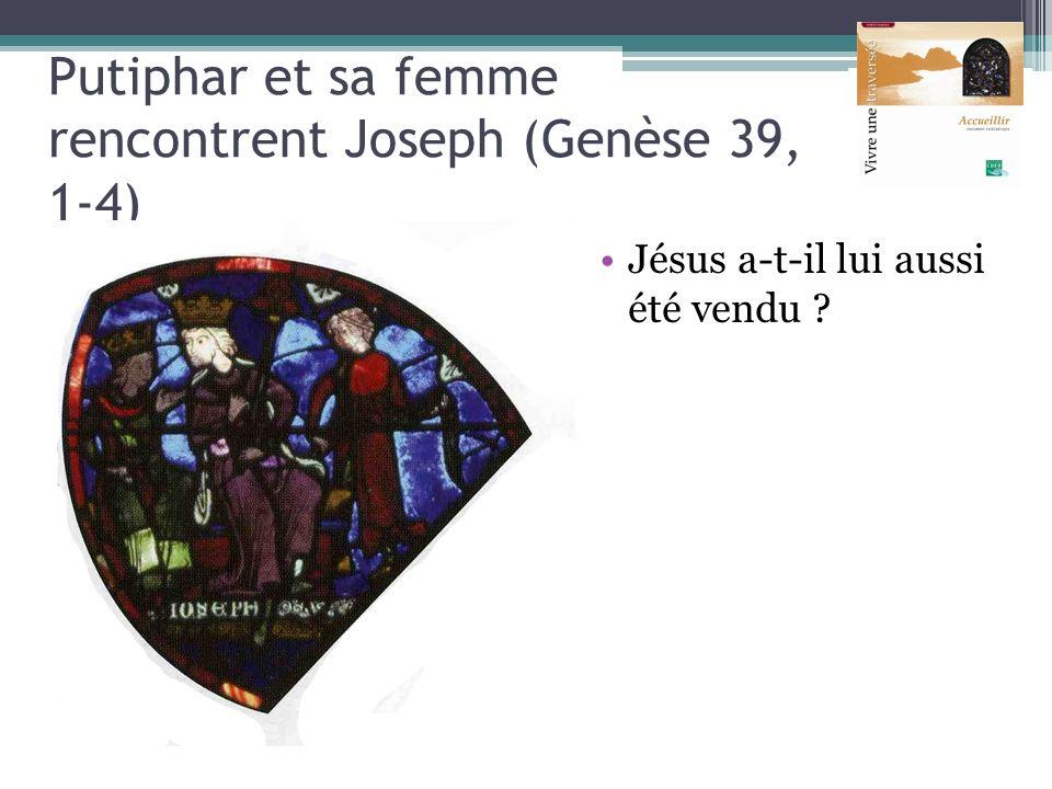 Putiphar et sa femme rencontrent Joseph (Genèse 39, 1-4)