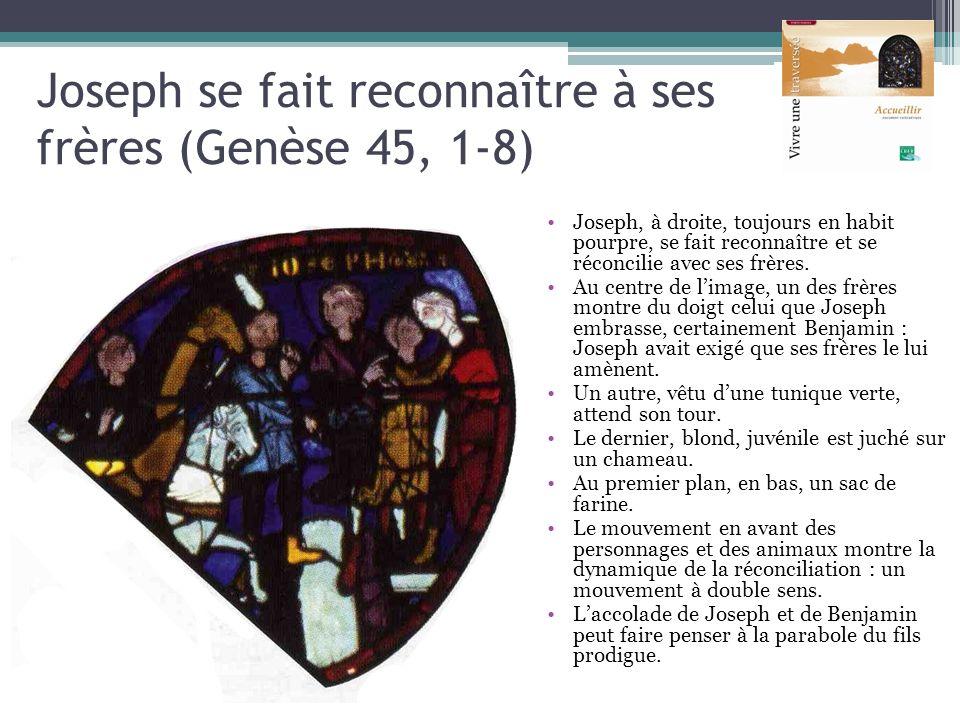 Joseph se fait reconnaître à ses frères (Genèse 45, 1-8)