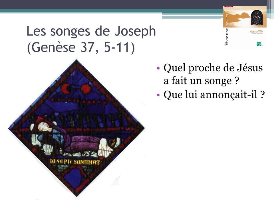 Les songes de Joseph (Genèse 37, 5-11)