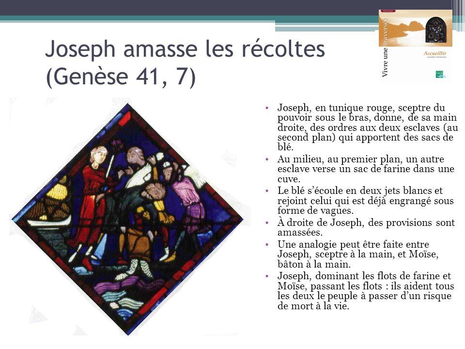 Joseph amasse les récoltes (Genèse 41, 7)