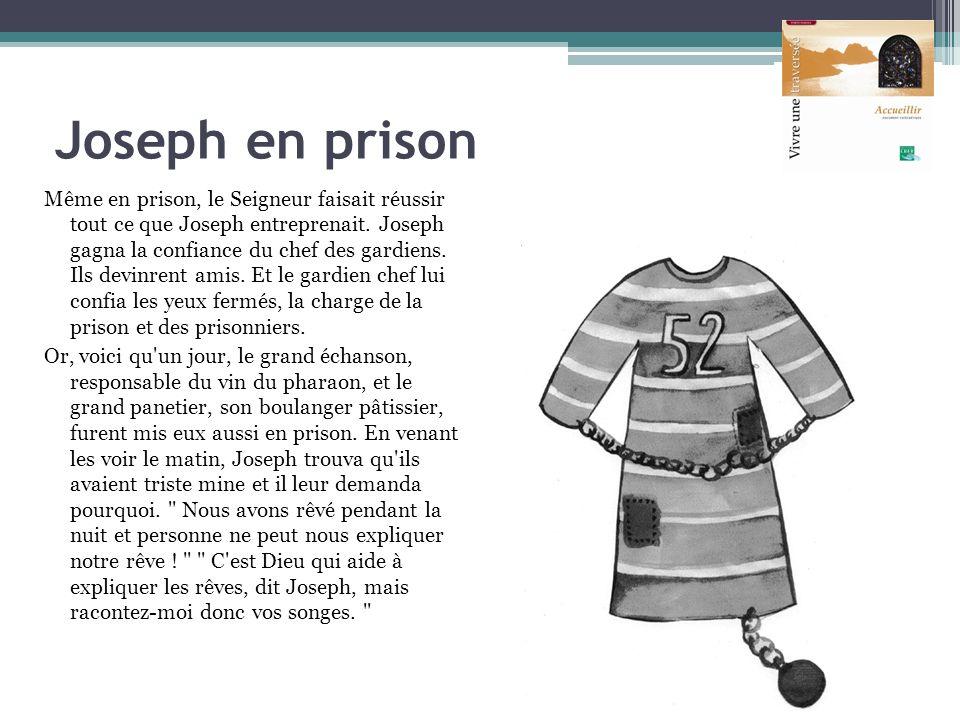 Joseph en prison
