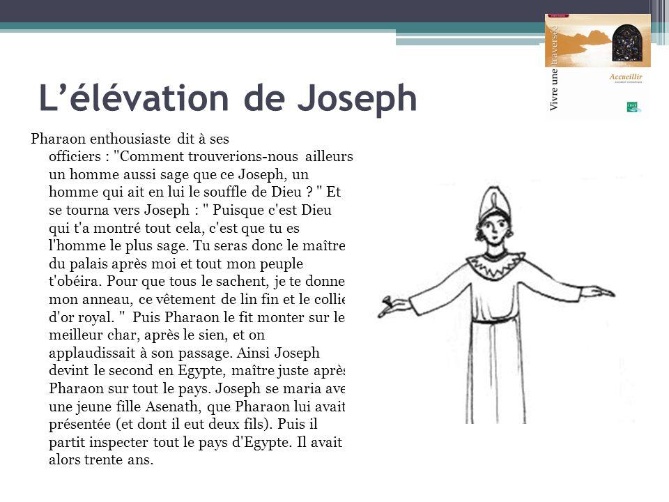 L'élévation de Joseph