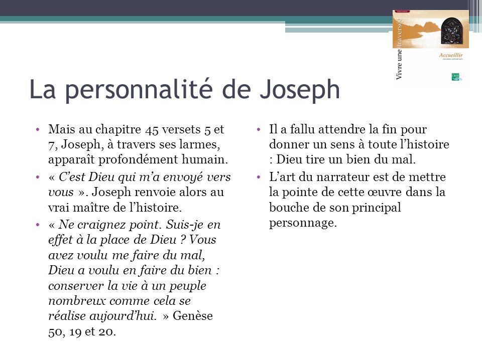 La personnalité de Joseph