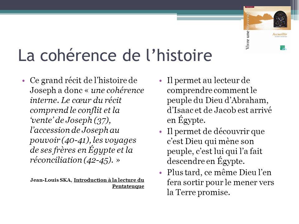 La cohérence de l'histoire