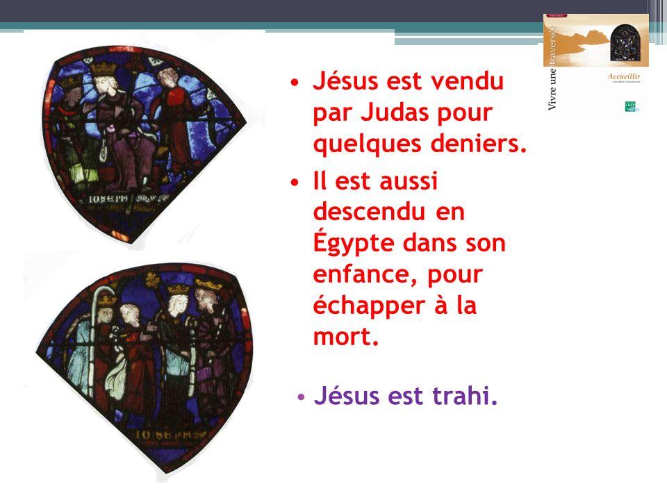 Jésus est vendu par Judas pour quelques deniers.