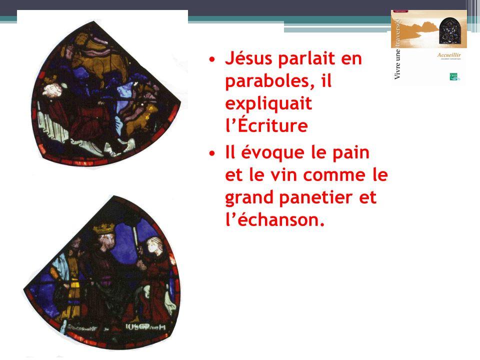 Jésus parlait en paraboles, il expliquait l'Écriture