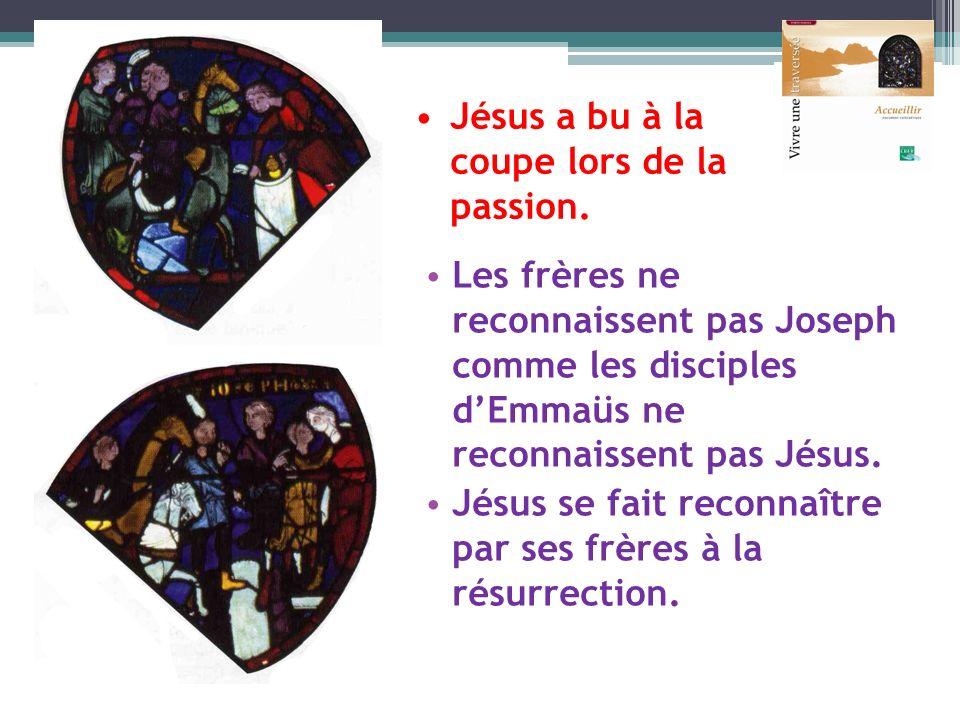 Jésus a bu à la coupe lors de la passion.