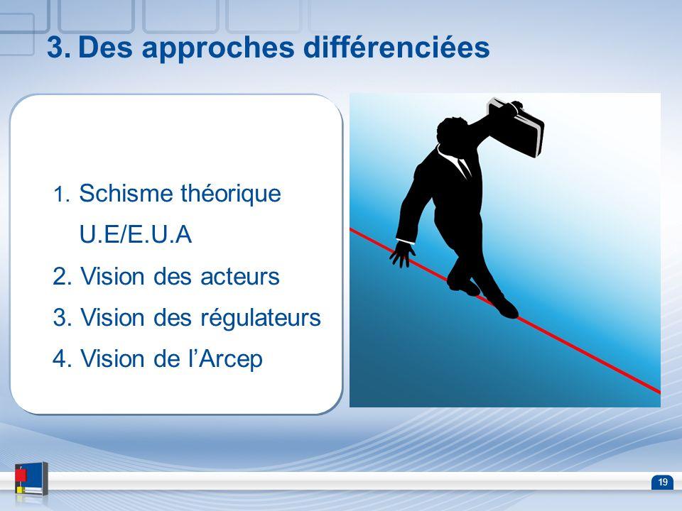 3. Des approches différenciées
