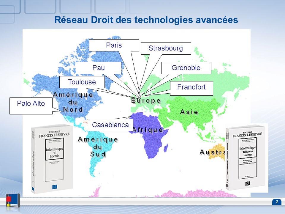 Réseau Droit des technologies avancées