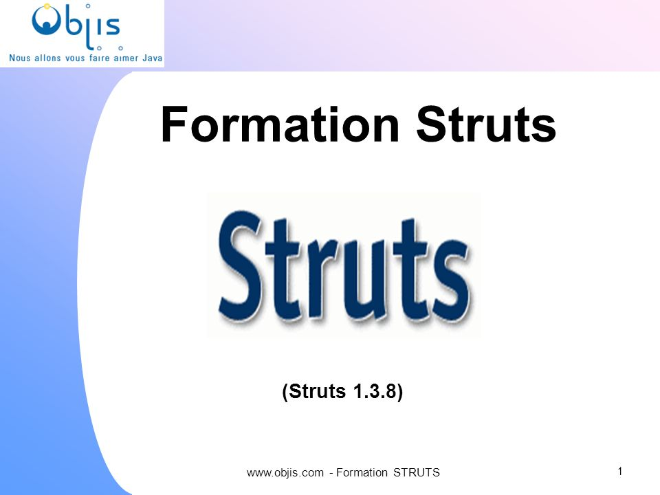 www.objis.com - Formation STRUTS