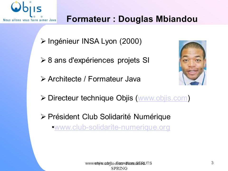 Formateur : Douglas Mbiandou