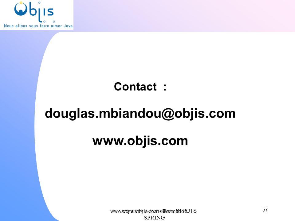 Contact : douglas.mbiandou@objis.com www.objis.com