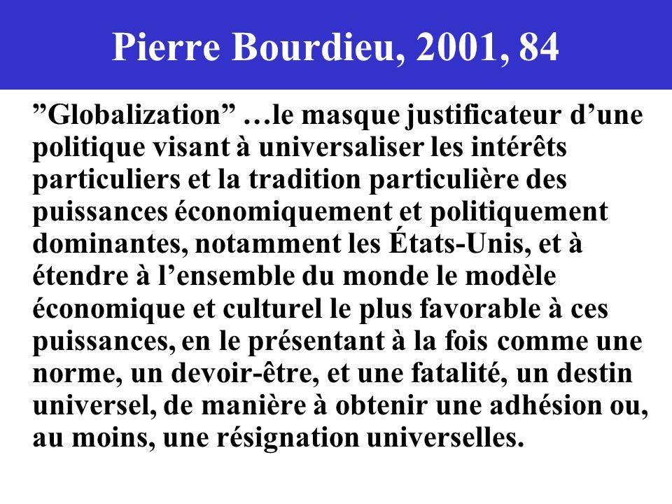 Pierre Bourdieu, 2001, 84