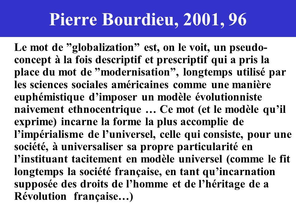 Pierre Bourdieu, 2001, 96