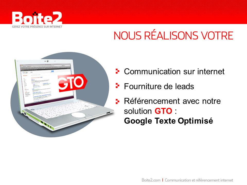 Communication sur internet
