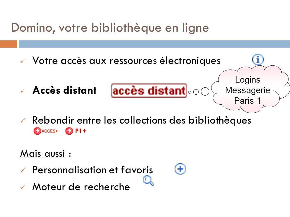 Domino, votre bibliothèque en ligne