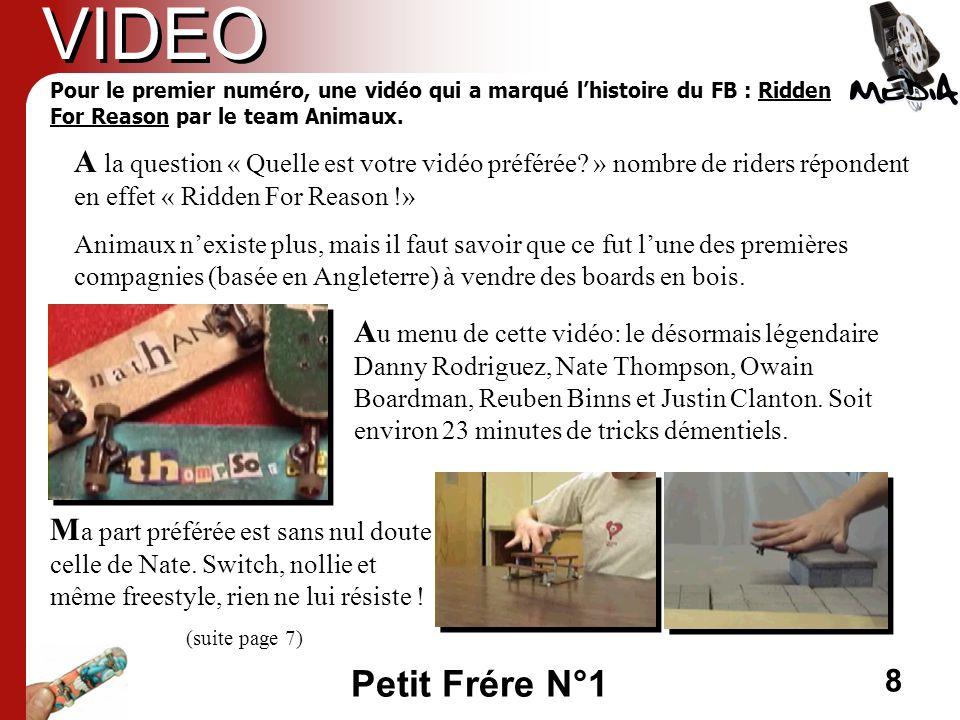 VIDEO Pour le premier numéro, une vidéo qui a marqué l'histoire du FB : Ridden For Reason par le team Animaux.