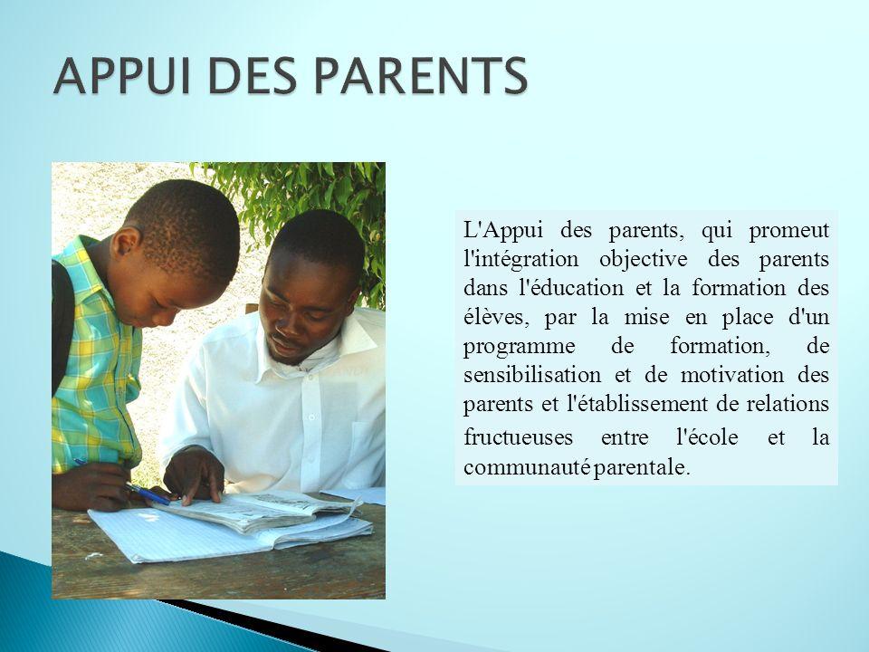 APPUI DES PARENTS