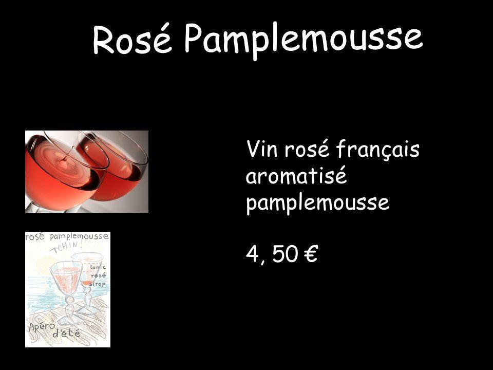 Rosé Pamplemousse Vin rosé français aromatisé pamplemousse 4, 50 €