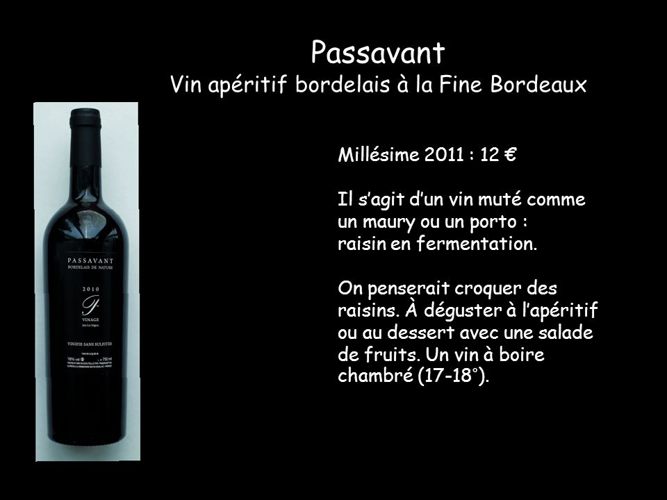 Vin apéritif bordelais à la Fine Bordeaux