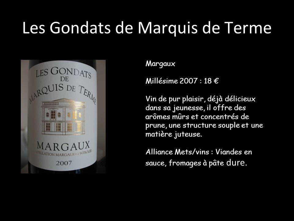 Les Gondats de Marquis de Terme