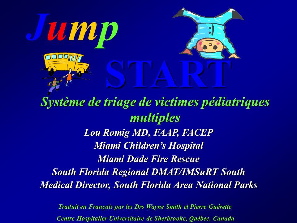 Système de triage de victimes pédiatriques multiples