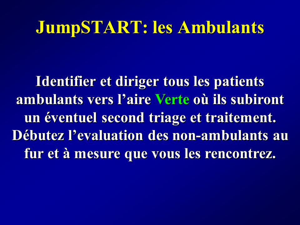 JumpSTART: les Ambulants