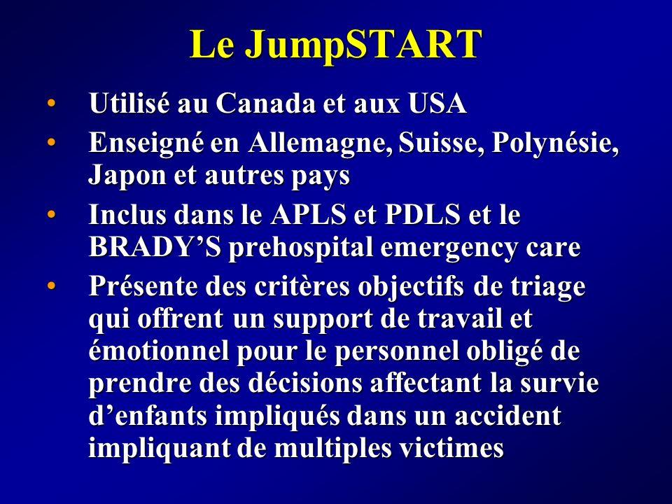Le JumpSTART Utilisé au Canada et aux USA