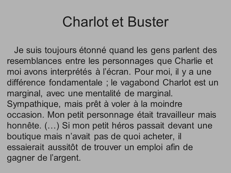 Charlot et Buster
