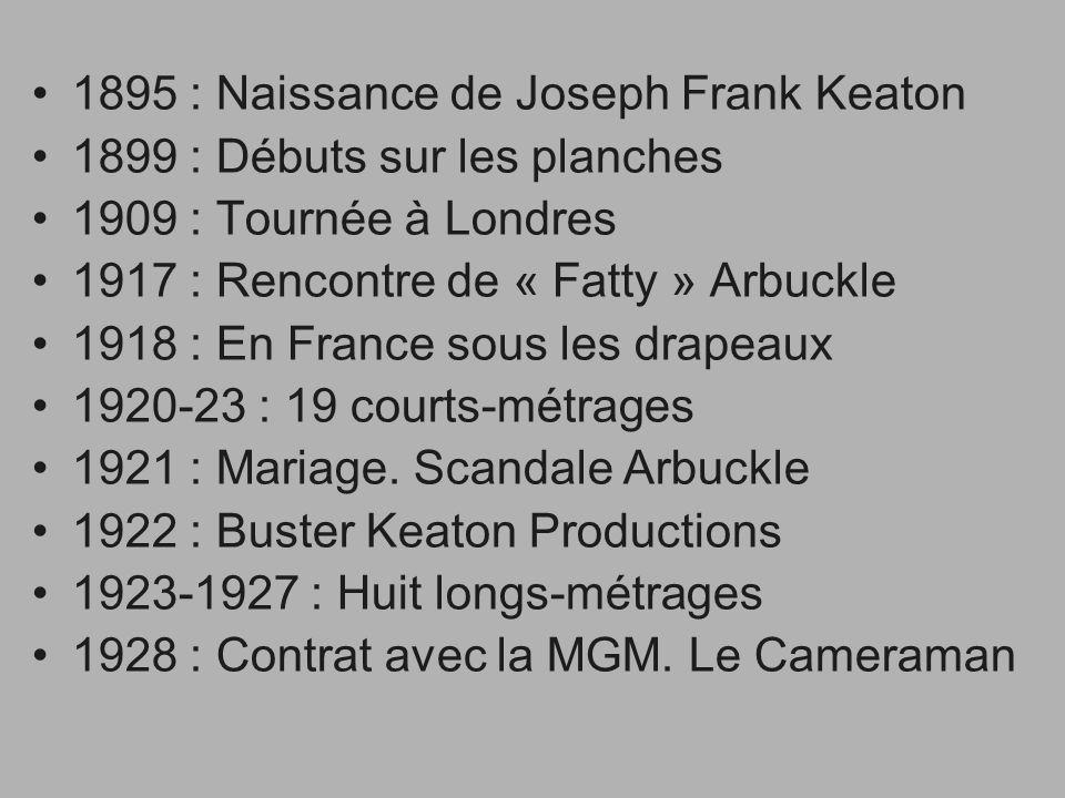 1895 : Naissance de Joseph Frank Keaton