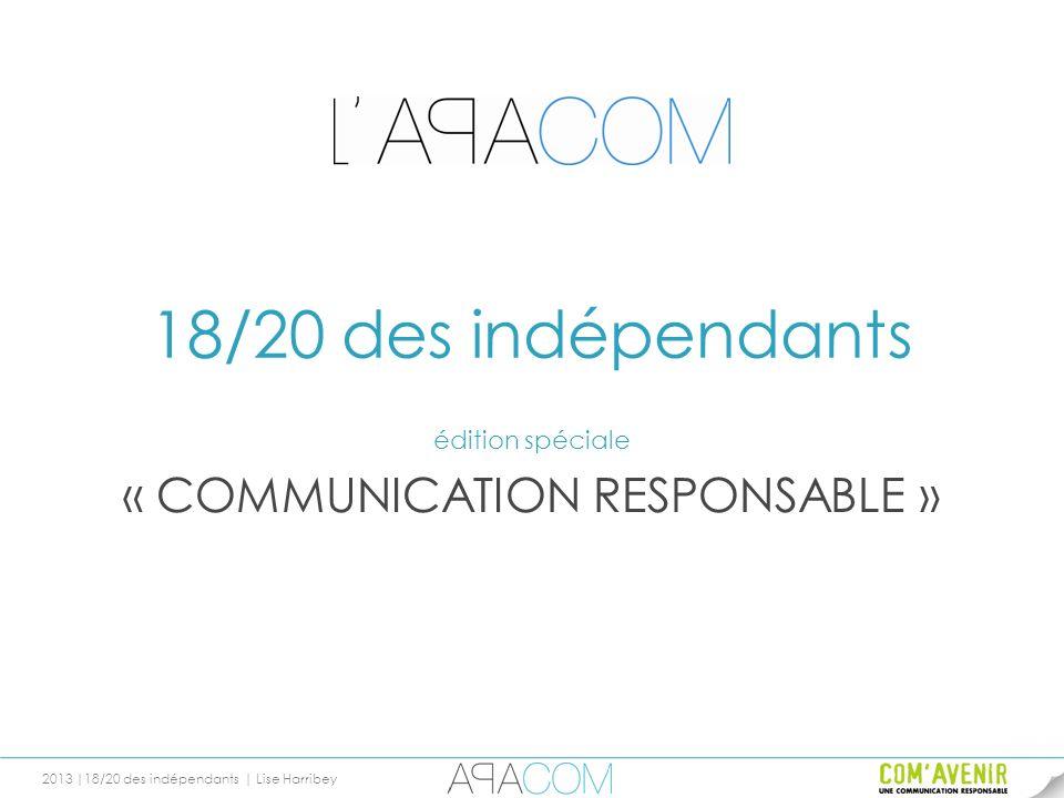 édition spéciale « COMMUNICATION RESPONSABLE »
