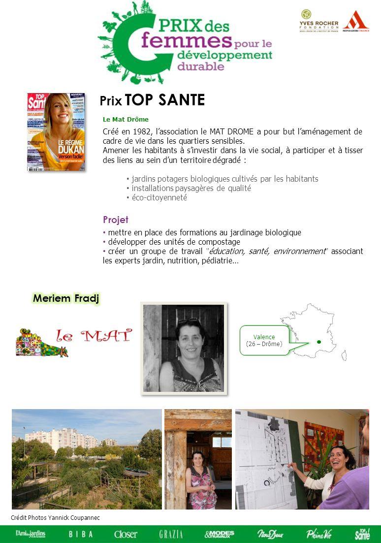Prix TOP SANTE Meriem Fradj Projet