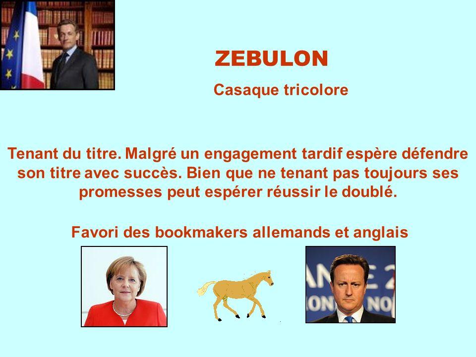 Favori des bookmakers allemands et anglais