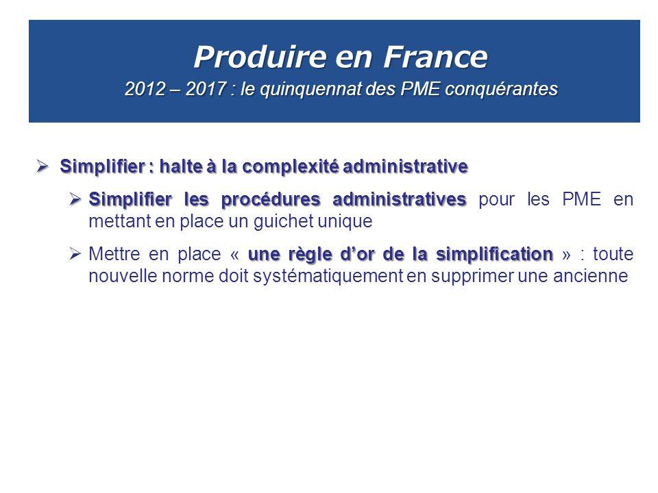 Produire en France 2012 – 2017 : le quinquennat des PME conquérantes