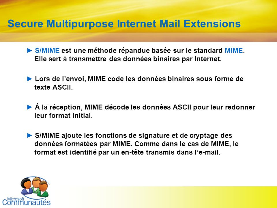Secure Multipurpose Internet Mail Extensions
