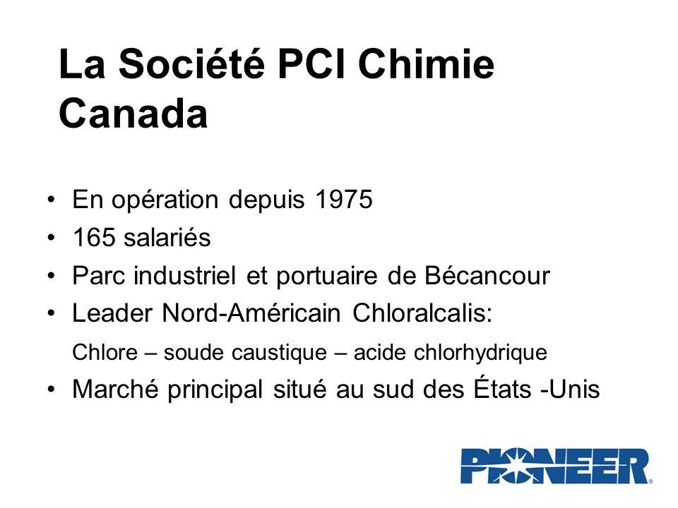 La Société PCI Chimie Canada