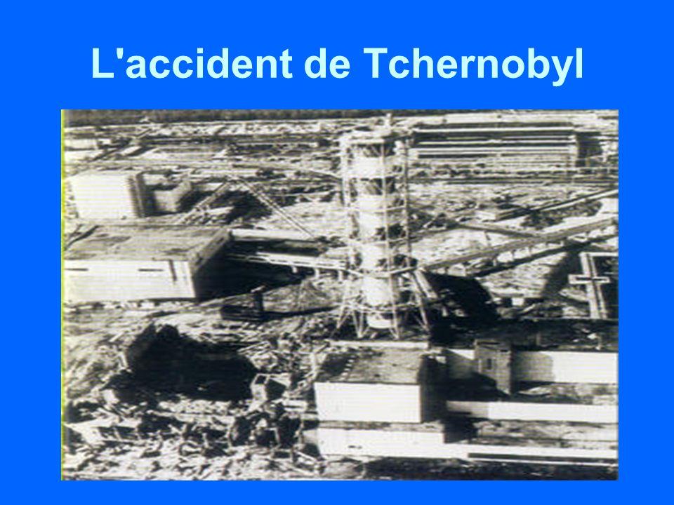 L accident de Tchernobyl