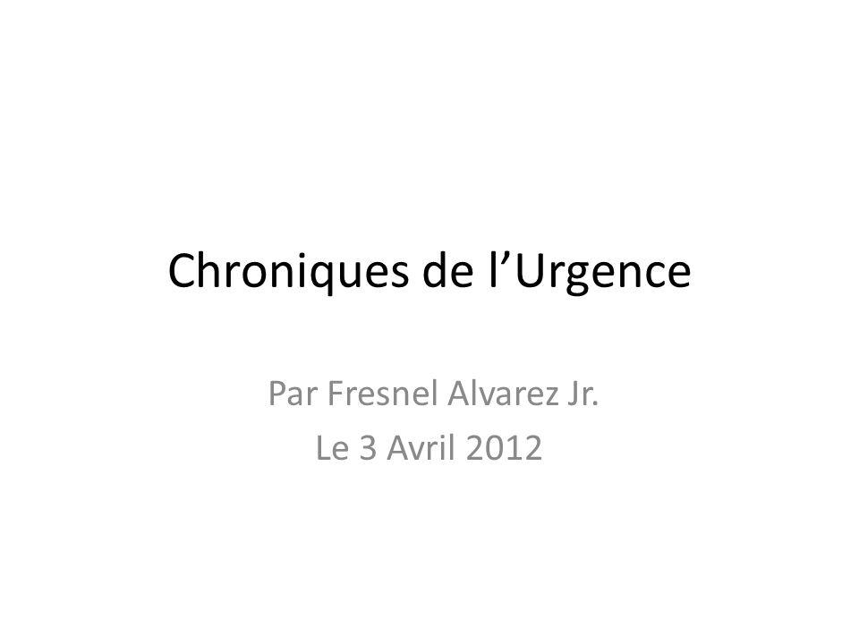 Chroniques de l'Urgence