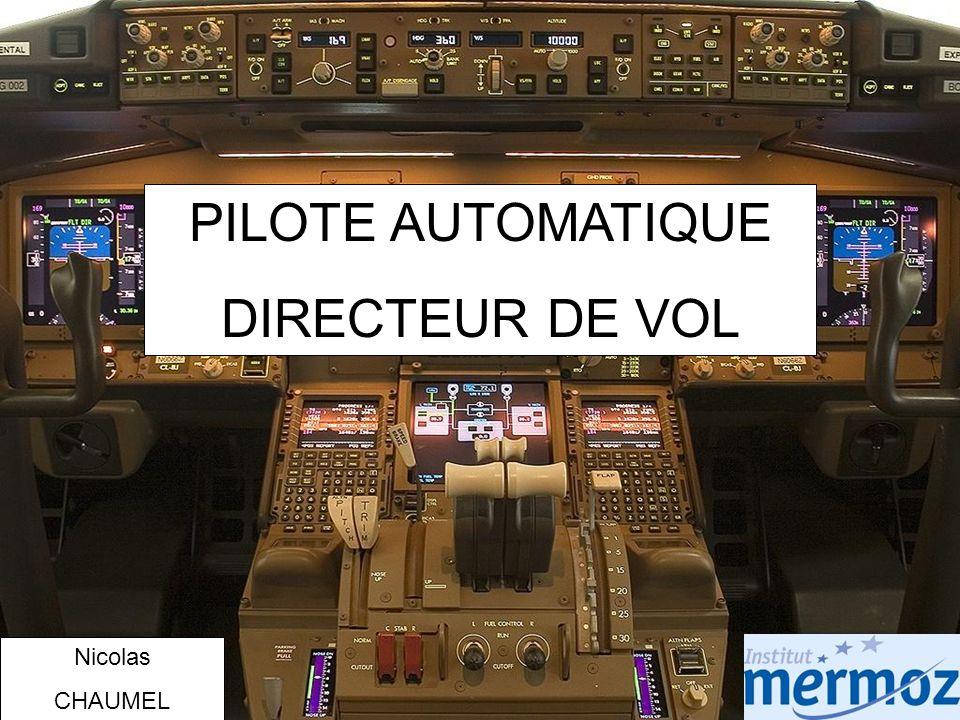 PILOTE AUTOMATIQUE DIRECTEUR DE VOL Nicolas CHAUMEL