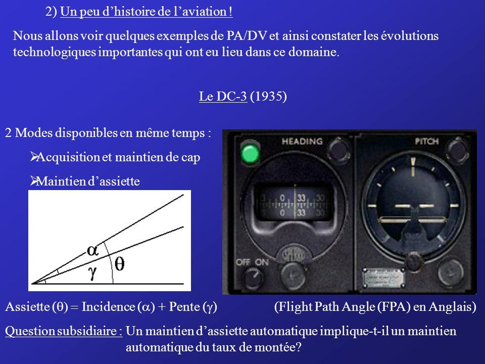 2) Un peu d'histoire de l'aviation !